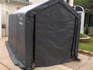 6x10 Storage Shed Shelterlogic 6 X 10 Instant Storage Shed Canopy 70403