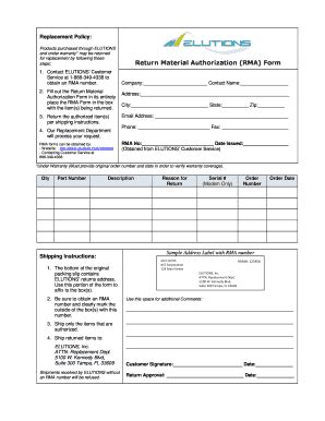 Rma Form Template Hashtag Bg Rma Form Template