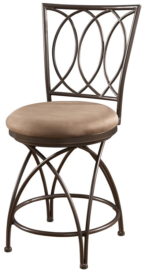 Powell Big And Bar Stools by Powell Big And Metal Crossed Legs Counter Stool With