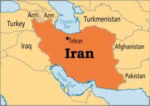 Iran On World Map by Tehran Iran Map World