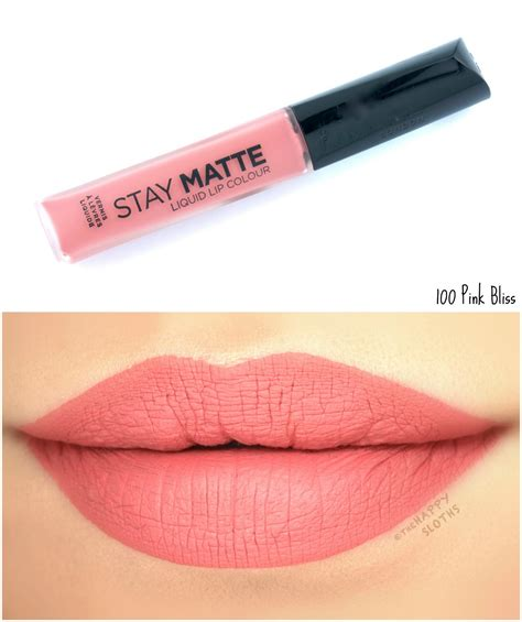 Rimmel Stay Matte rimmel stay matte liquid lip colour review and swatches the happy sloths