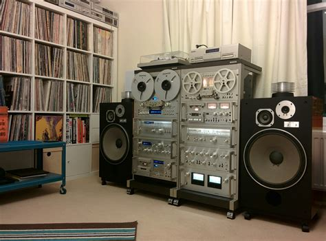 pioneer spec blue series vintage complete system with