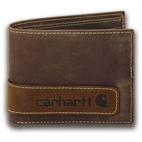 carhartt leather bifold wallet 667725 wallets at