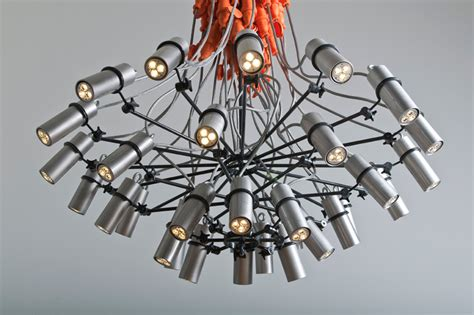 Industrial Chic Chandelier The Industrial Chic Chandelier Yanko Design