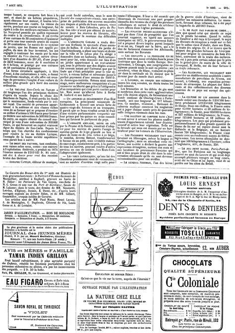 L'illustration journal universel n° 1693 - Une mer