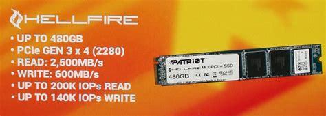 Ssd Patriot Hellfire M 2 2280 Pcie Ssd 480gb patriot hellfire m 2 i pcie oraz viper nowe ssd pclab pl