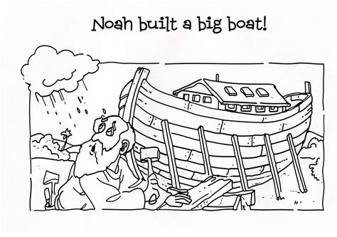 coloring book pages of noah s ark noah ark coloring page answers in genesis noah s ark