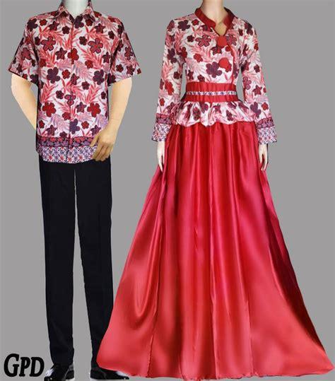 Baju Muslim Wanita Rrk 012 model baju gamis batik brokat sifon satin terpopuler 2018