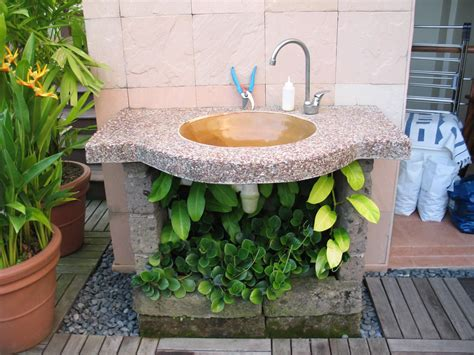 backyard gear outdoor sink rubbermaid outdoor sink station all about home design