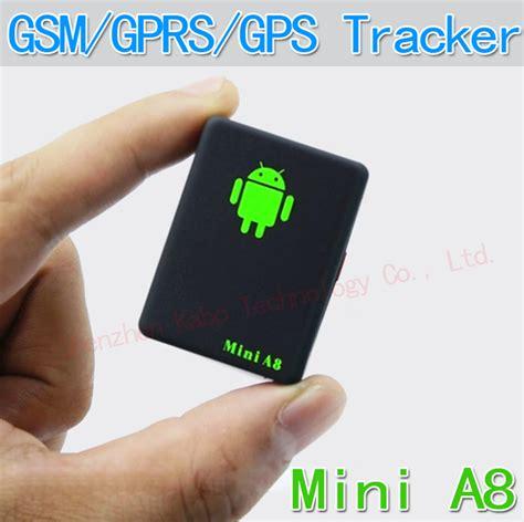 mini global real time gps tracker a8 gsm gprs gps tracking