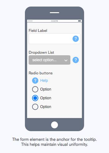 mobile tooltips how to display tooltips on mobile forms