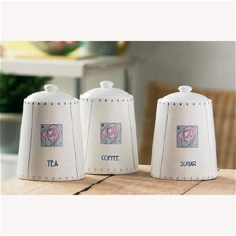 Kitchen Canisters And Jars fine porcelain tea coffee sugar jars girls gift review