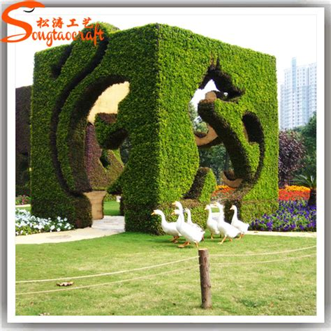 cheap topiaries 2015 sale artificial wire topiary animal frames garden