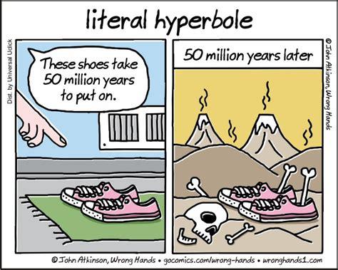 hyperbole picture books hyperbole semantics