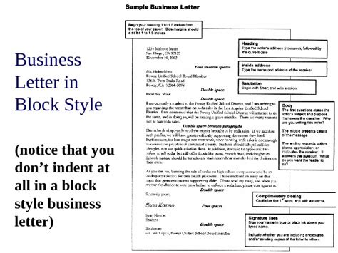 business letter ppt business letter ppt