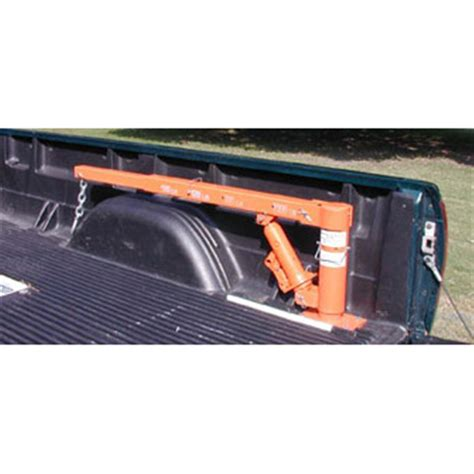 truck bed hoist buffalo tools pick up truck crane 112485 accessories at