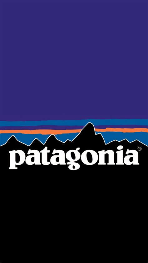unofficial iphone wallpapers unofficial patagonia logo wallpapers  iphone