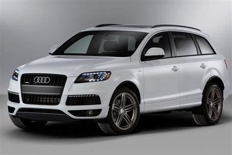Audi Q7 Different Models by 2012 Audi Q7 New Car Review Autotrader