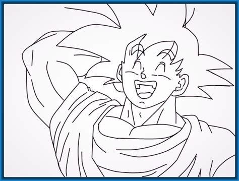 dibujos de dragon ball para pintar y colorear imagenes de dragon ball gt para pintar y colorear