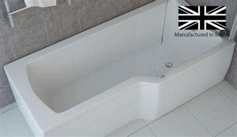 1800 l shaped shower bath buy 1500mm l shape shower bath screen rh bathshop321