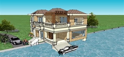 create my house my dream house on sketchup izaker