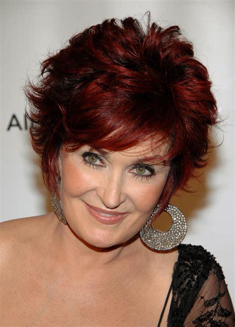 sharon osbournes haircolor sharon osbourne hair color 2011