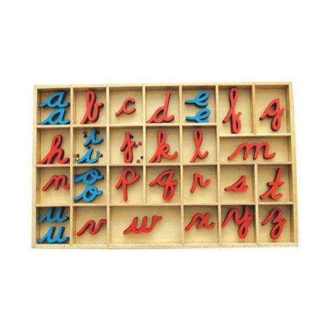 lettere mobili montessori premium petit alphabet en bois mobile