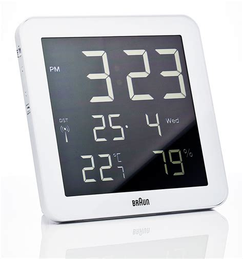 digital wall clocks braun digital wall clock nova68 modern design