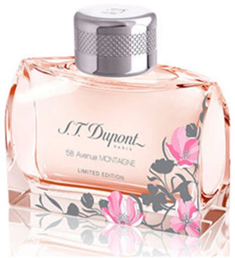 S T Dupont 58 Avenue Montaigne For Edt 100ml 58 avenue montaigne pour femme limited edition s t dupont perfume a fragrance for 2013