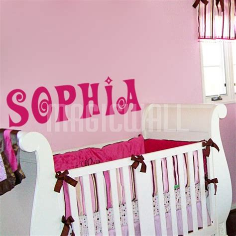 personalized name wall stickers wall stickers personalized name monogram wall decals canada