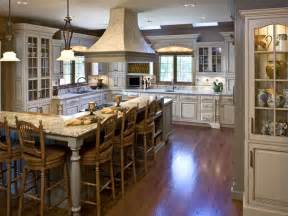 kitchen with l shaped island kitchen island with breakfast bar design ideas