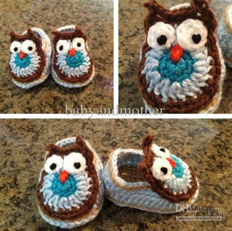 Handmade Slippers Patterns - baby crochet shoes boys handmade animal pattern shoes