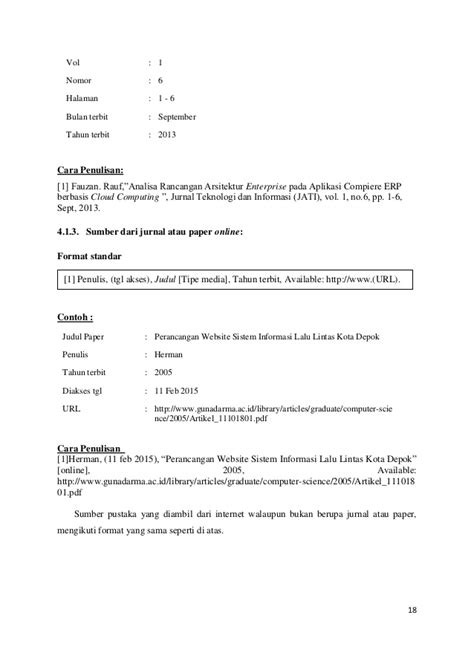 format rancangan skripsi panduan skripsi ta word revisi