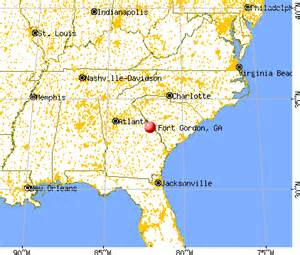 fort gordon ga 30905 profile population maps