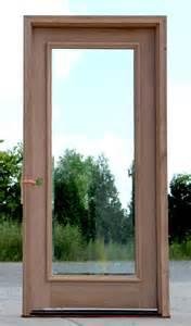 full glass entry door full lite exterior door with clear bevel glass