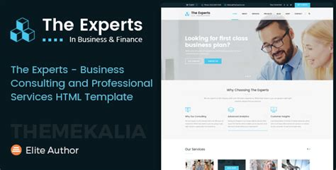 The Experts Business Consulting And Professional Services Html Template Jogjafile Business Plan Template Consulting Services