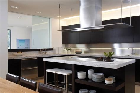 modern black kitchen 24 black kitchen cabinet designs decorating ideas