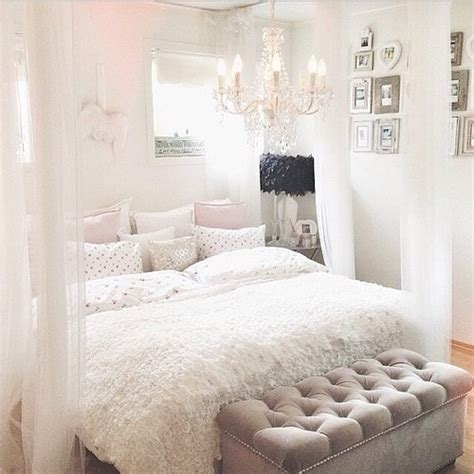 Love Cute White Style Room Bedroom Design Home Inspiration Luxury Interior House