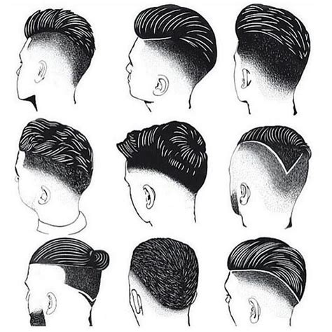 diagram of hair cuts from the 60 280 best mens hair images on pinterest man s hairstyle