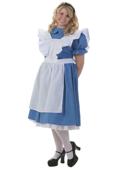 alice in wonderland costume alice in wonderland costumes deluxe plus size alice costume