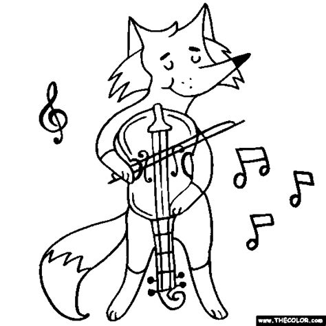 violin player coloring page online coloring pages starting with the letter f page 5