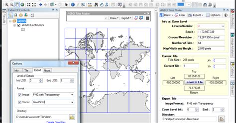 arcmap layout zoom agbo tiles maker for arcgis 10 ernesto giron