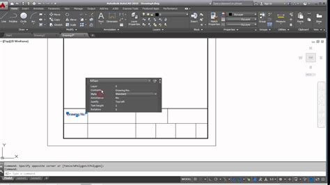 dwg title block templates autocad how to create a new a4 template and a custom title