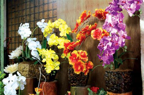 Jual Pot Anggrek Jogja bunga sudut ruang tamu desainrumahid