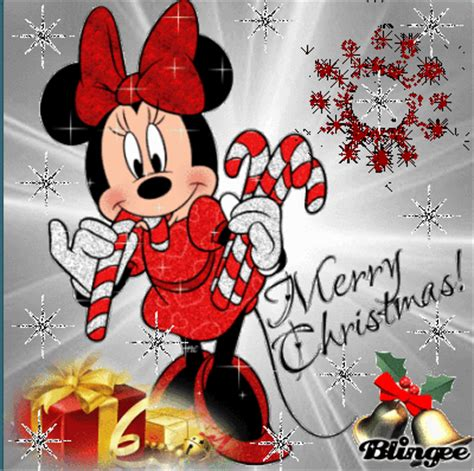 minnie christmas picture  blingeecom