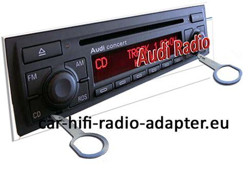 Autoradio Einbau Tipps Infos Hilfe zur Autoradio Installation » Radiowechsel Audi A3 2003 ? 2007