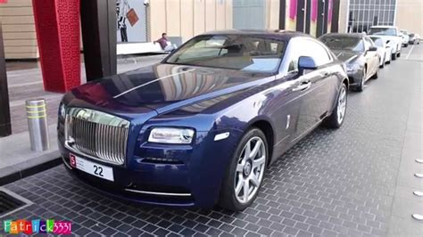 Dark Blue Rolls Royce Wraith Quot 5 22 Quot Youtube