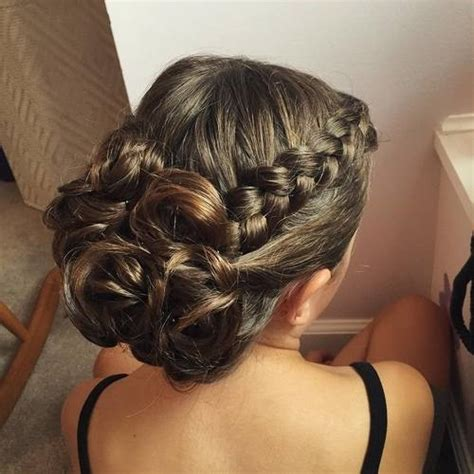 formal hairstyles updos braided 40 most delightful prom updos for long hair in 2018
