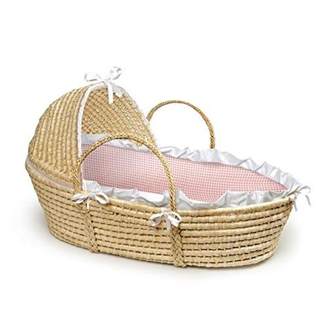 moses basket coverlet and hood badger basket company natural baby moses basket with hood