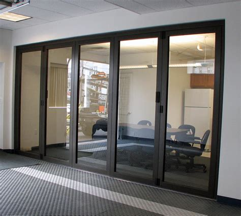 Glass Wall Door Commercial Room Dividers Sliding Best Decor Things
